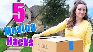 5 Moving Hacks! | Mindy McKnight