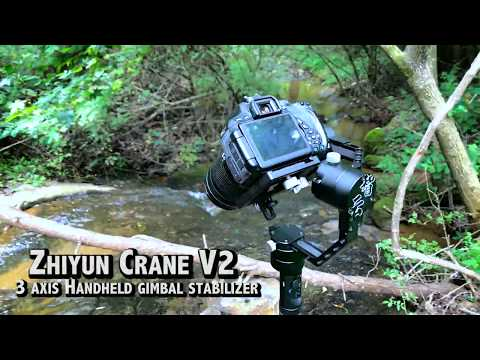 Zhiyun Crane(V2) 3-Axis Handheld Gimbal Stabilizer Review and How to