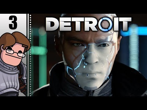 Let's Play Detroit: Become Human Part 3 (Patreon Chosen Game)