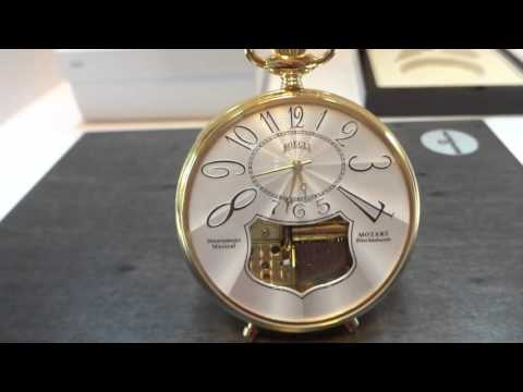 Reuge Boegli Sopranos musical pocket watch