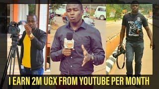 I earn 2M ugx from YouTube per month ft Denis Duke Uganda //Nabz Arah