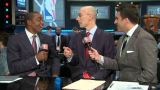 Adam Silver About Being Booed