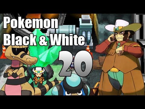 Pokémon Black & White - Episode 20 [Driftveil Gym]