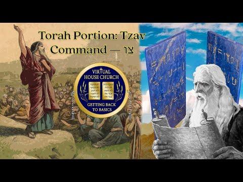2021 Virtual House Church - Bible Study - Week 25: Tzav
