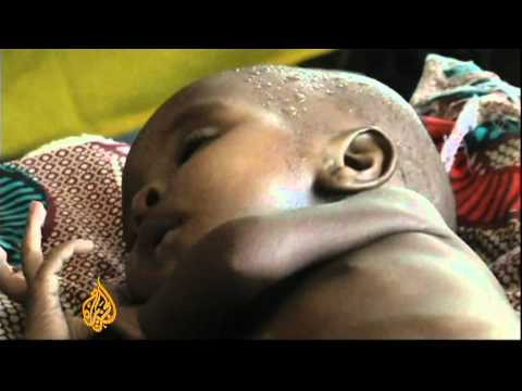 Hunger crisis stalks Chad's children