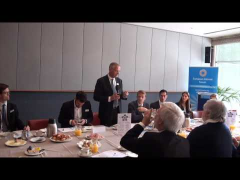 Lambert van Nistelrooij MEP opens EIF debate on Scalability of Startups