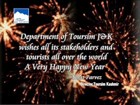 Happy New Year From Jammu and Kashmir Tourism