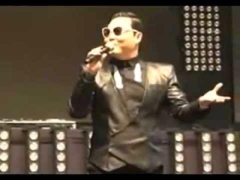 PSY gangnam style istanbul konseri