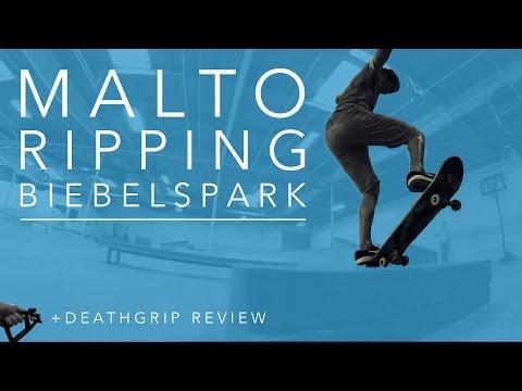 Death Grip Review & Test w Go Pro Sean Malto