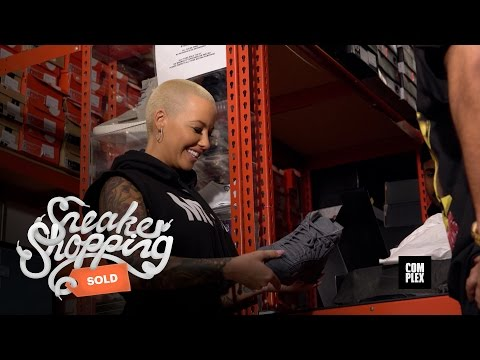 Sneaker Shopping With Amber Rose