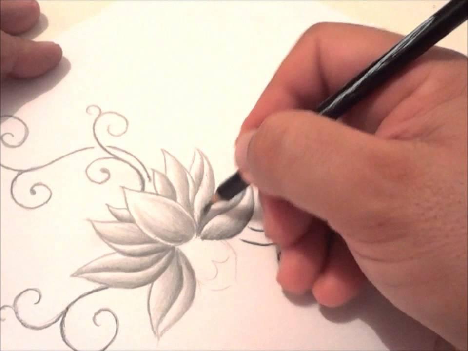 Tattoo Lotus  Romualdo Espindola Ramos Assis SP YouTube