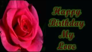 Happy birthday special wishes and greetings to wife from Husband, whatsapp video, free download