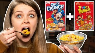 Crazy Cereal Combos Taste Test