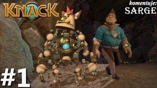 Zagrajmy w Knack odc. 1 - Tajna broń w wojnie z goblinami