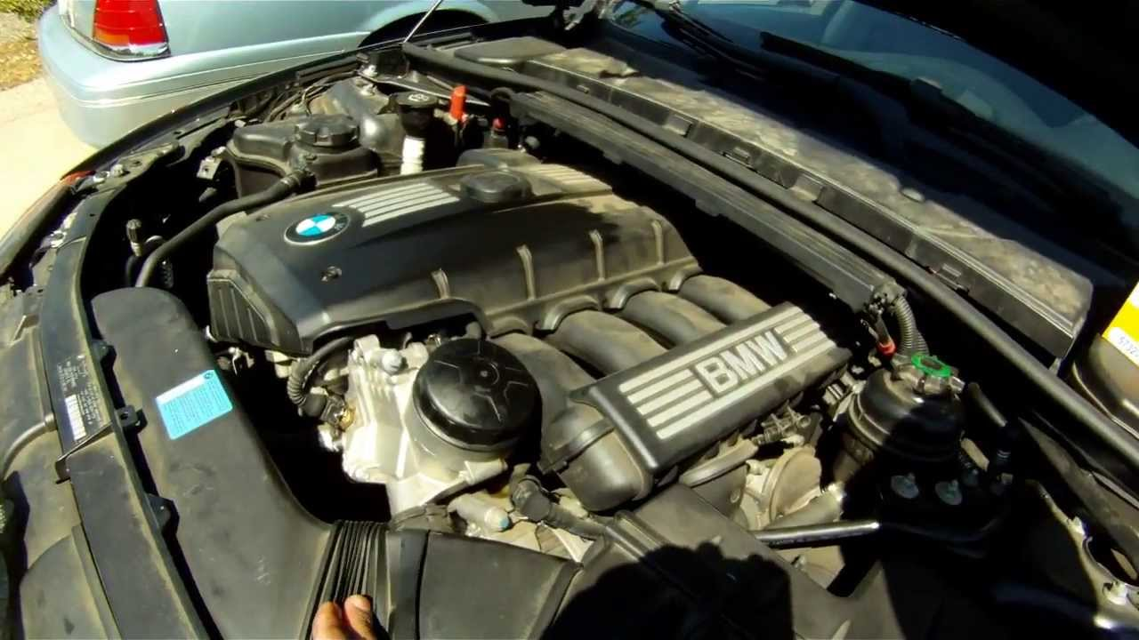 2008 Bmw 328i Oil Service Youtube