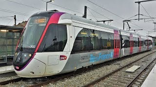 Paris Tramway T11 Express Epinay - Le Bourget - Service Commercial