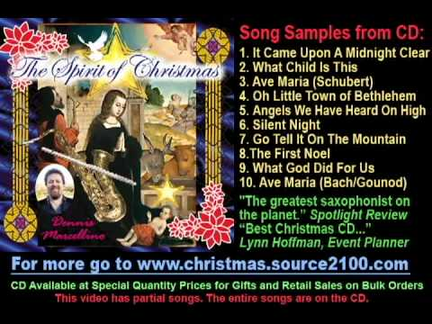 The Spirit of Christmas CD by Dennis Marcellino