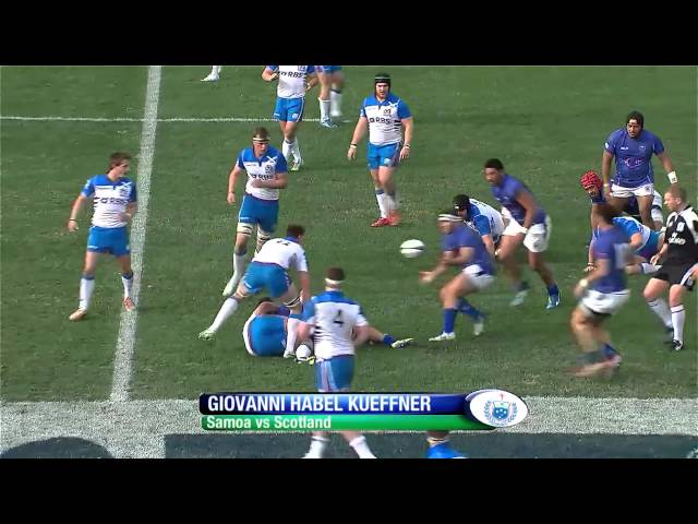 BEST five tries from JWC 2014