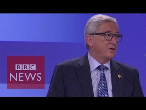 Greece Crisis: 'I feel a little betrayed' says Jean-Claude Juncker - BBC News