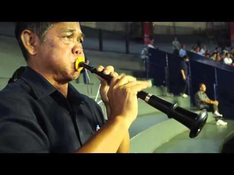 MuayThai Music live recording at Rajdamnoen boxing stadium July19,2015