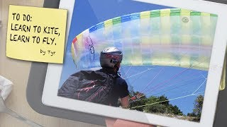 LEARN TO KITE - LEARN TO PARAGLIDE - Groundhandling by Tyr Goldsmith