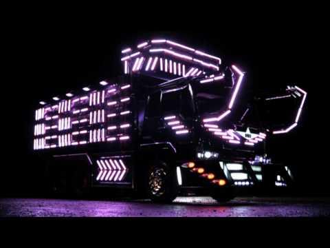 El símbolo del arte japonés plasmado en camiones