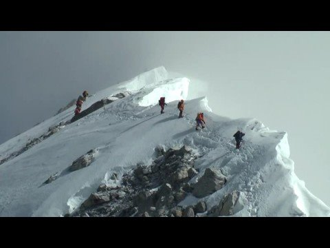 Everest summit day