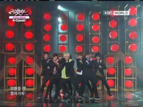 [music Bank K-chart] Super Junior - Mr. Simple (2011.08.05) video
