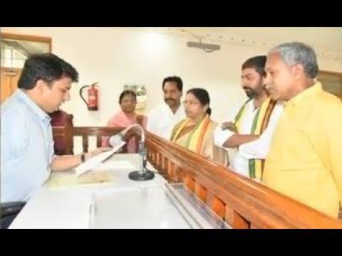 Gali Saraswathamma Elected As Chittor MLC | Andhra Pradesh | CVR News