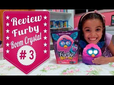 Review #3 - Ganhei Meu Furby Boom Crystal