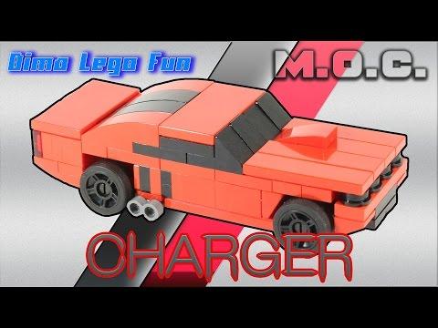 Dodge Charger (Challenger) How to build Lego Как собрать Додж Чарджер Лего самоделка