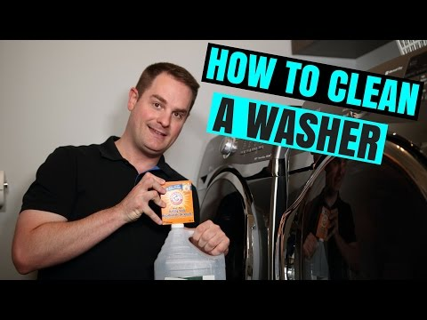 HOW TO CLEAN YOUR WASHING MACHINE !! (QUICK & EASY)