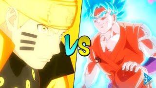 Uzumaki Naruto vs Son Gokú    Clásica Batalla Anime