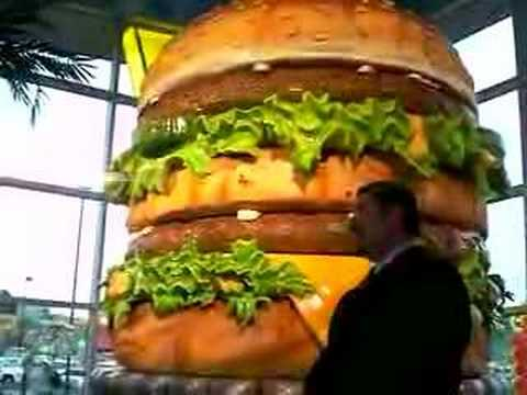 The Unveiling of The Worlds Biggest Big Mac (Big Mac Museum)