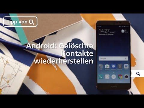 Tipp: Unter Android gelöschte Kontakte wiederherstellen