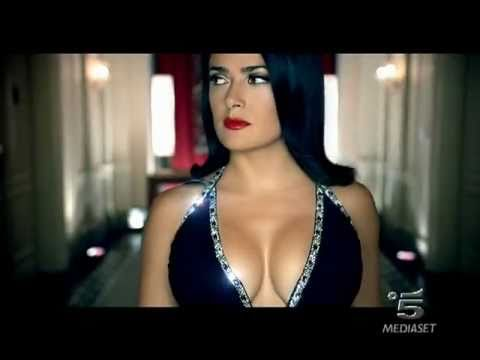 CAMPARI Red Passion spot 2007 con Salma Hayek in HQ