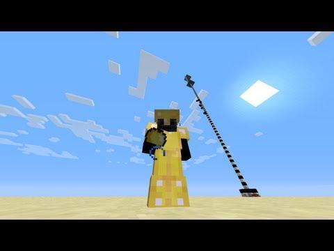 Ciencia en Minecraft. Máxima altura sin morir por caída