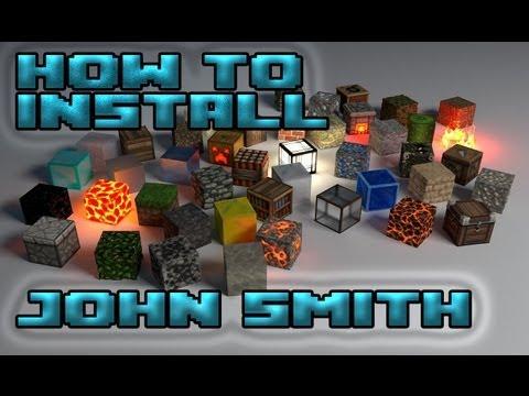 Minecraft how to install John Smith texturepack 1.6.4