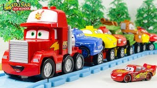 Learning Color Disney Pixar Cars Lightning McQueen mack truck train Play for kids car toys