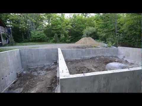 Concrete Foundation Review - 9 - My Garage Build HD Time Lapse