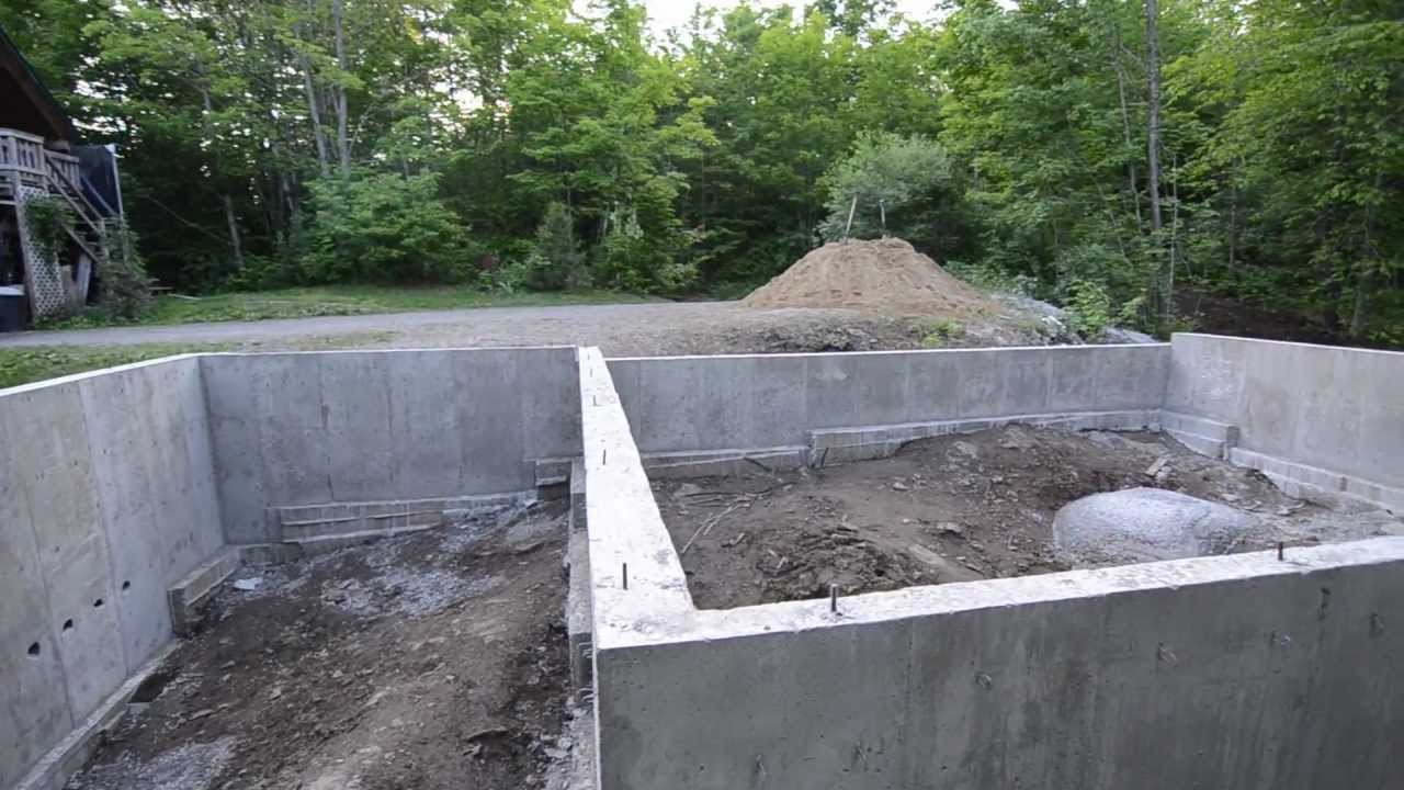 Concrete Foundation Review 9 My Garage Build Hd Time