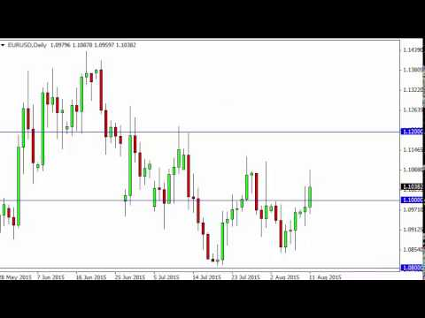 EUR/USD Technical Analysis for August 12 2015 by FXEmpire.com