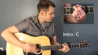 How Great Is Our God - Chris Tomlin - Video Tutorial with Chord Chart