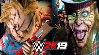 LEPRECHAUN vs CHUCKY EXTREMELY BRUTAL FACE OFF on FRIGHT NIGHT FIGHT!
