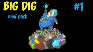 BIG DIG mod pack   Minecraft #1
