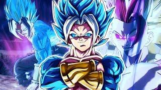 THE ULTIMATE SAIYAN RYCON! Ultra Instinct And Super Saiyan Blue Rycon   Dragon Ball Xenoverse 2