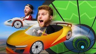 Ridiculous Stunt Race Challenge! | GTA 5 Lan Party [Ep 2]