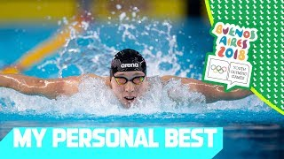 Personal Bests in 50m Freestyle & Jr Men's Rowing | My Personal Best Day 4 | YOG Buenos Aires 2018