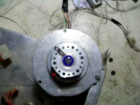 двигатель/Stepper engine