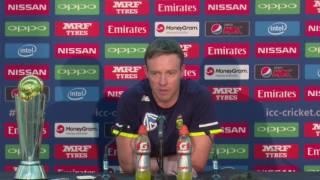 02 June, London   South Africa   AB de Villiers Pre Match Press Conference